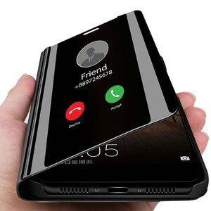 Smart Mirror Phone Case For Huawei Mate 30 P30 P20 Mate 20 10 Pro Lite P Smart 2019 Honor 20 7C 8X 10 8 9 Lite 9i Nova 3 3i Case(China)