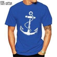 Marinha kapitan herren t camisa mit schiff anker piraten strand segeln tatuagem