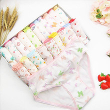 18Pc/Lot Soft Comfortalbe Baby Girls Underear Cotton Panties for Girls Kids Short Briefs