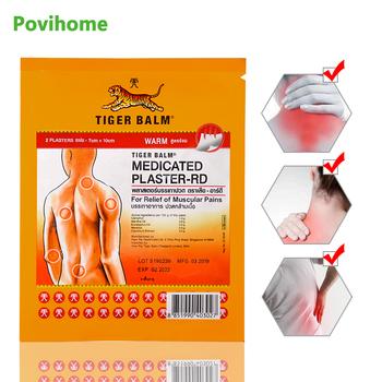 Tajlandia Tiger Balm Capsicum plaster medyczny mięśni wspólne zapalenie stawów reumatyzm ulga w bólu łatka ziołowy plaster medyczny D2271 tanie i dobre opinie Povihome Ciało Herbal Medical Plaster