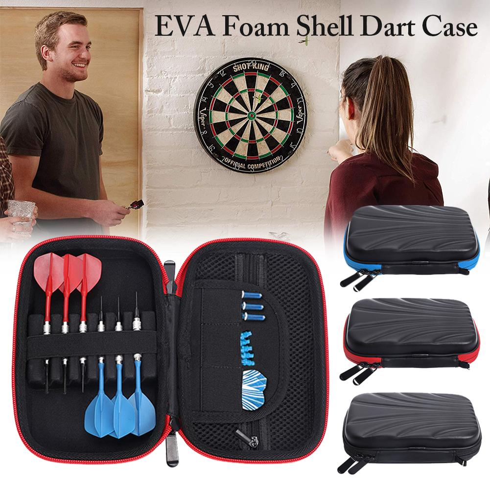 EVA Foam Shell Dart Case 6 Darts Holding Container Extra Accessories For Storing Steel Tip And Soft Tip Darts