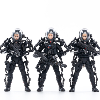 1/18 JOYTOY Action Figure The Movie The Wandering Earth Figures Collectible Toy Military Model Thanksgiving Gift Free Shipping wow action figure dc unlimited series 4 9 inch deluxe medusa lady vashj wow pvc model toy free shipping