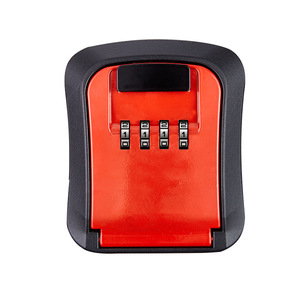 Image 5 - キーセーフストレージボックスウォールマウント隠し秘密オーガナイザーボックス 4 桁コンビネーションパスワードロックと家の車スペアキー安全