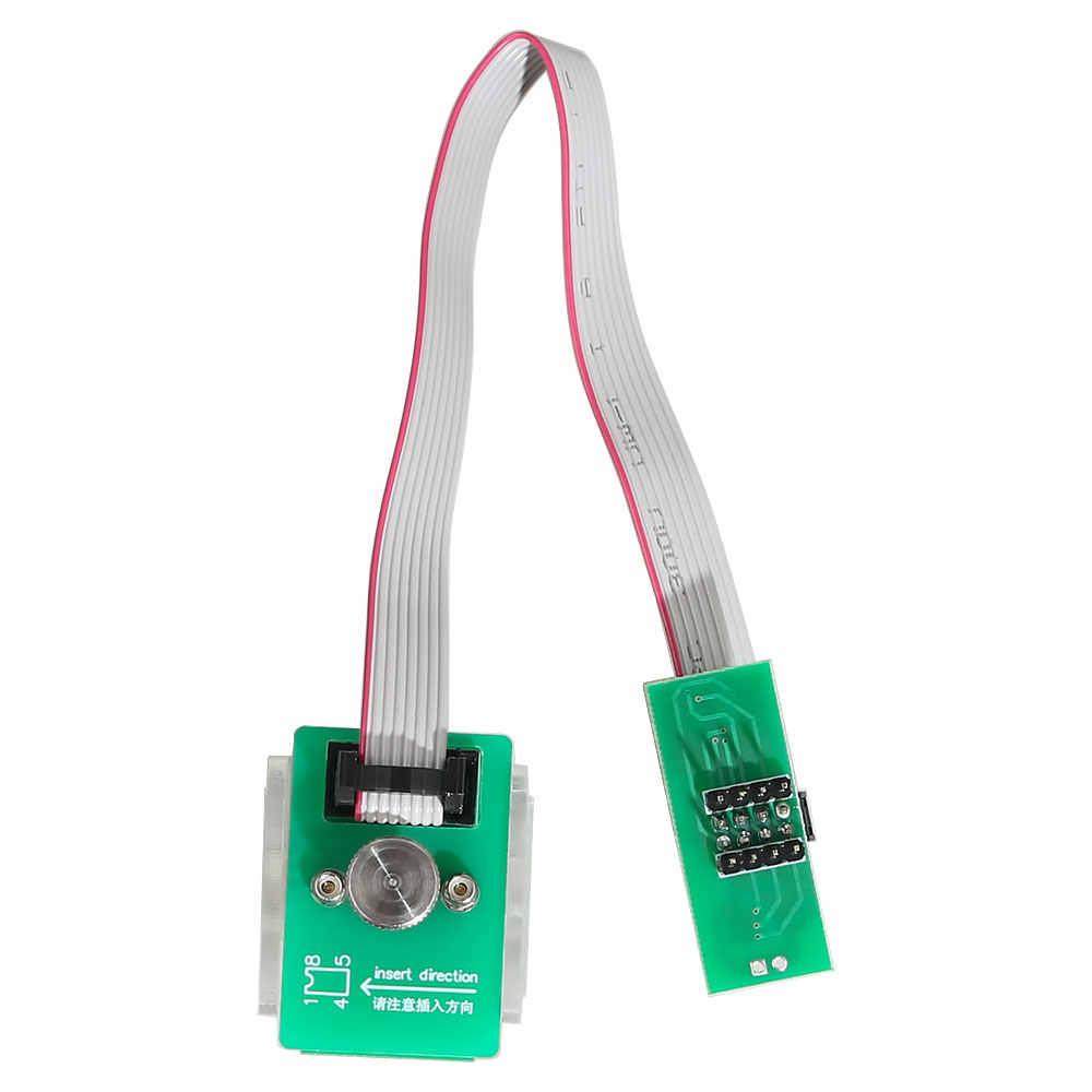 EEPROM מתאם 8Pin קו קליפ Soic 8 sop8 מבחן קליפ Eeprom קליפ תומך XPROG V6.12/UPA/כתום/ CG פרו 9S12 משלוח חינם