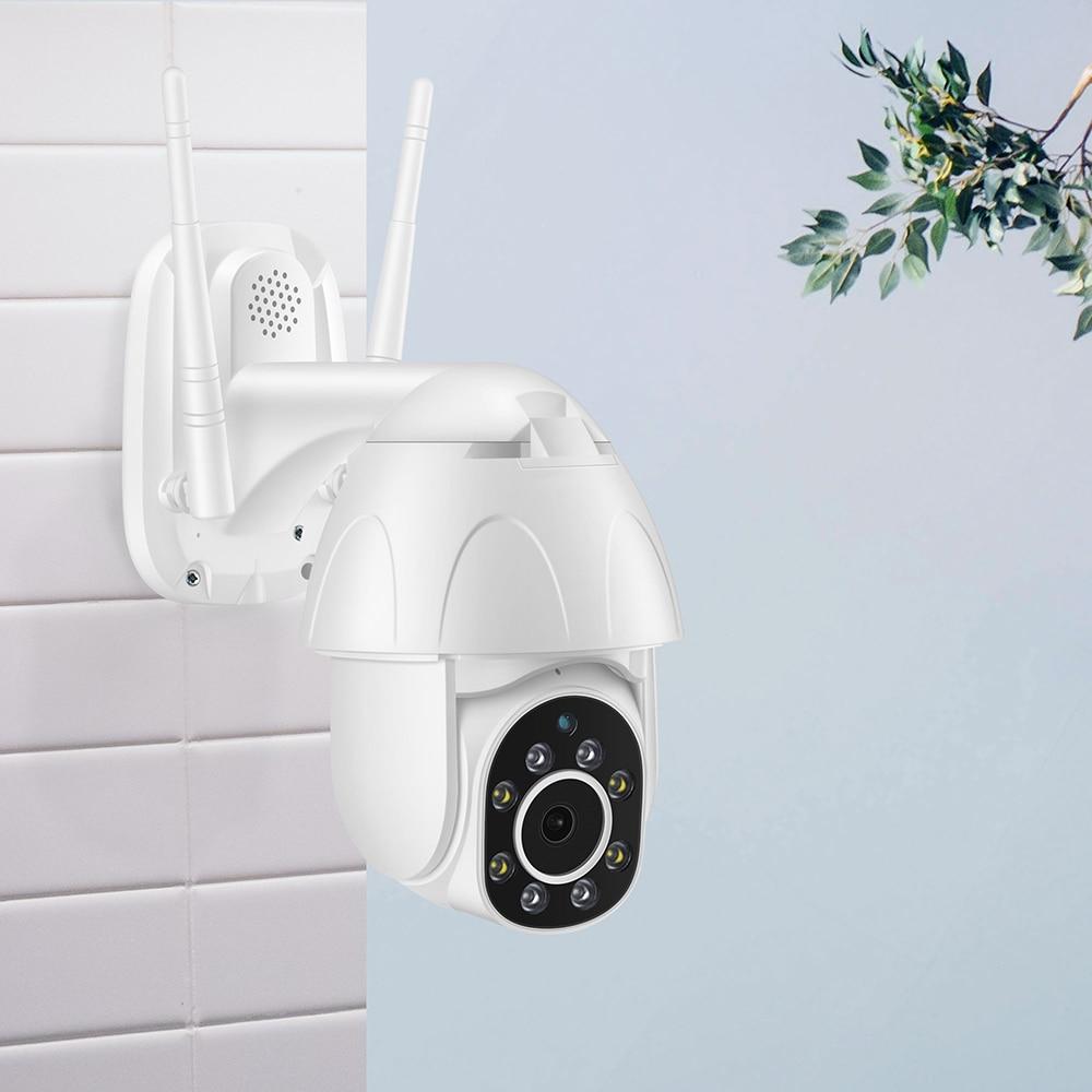 Zosi 1080 p ptz câmera ip wi fi ao ar livre velocidade dome câmera de segurança sem fio wi fi pan tilt 4x zoom digital 2mp cctv vigilância