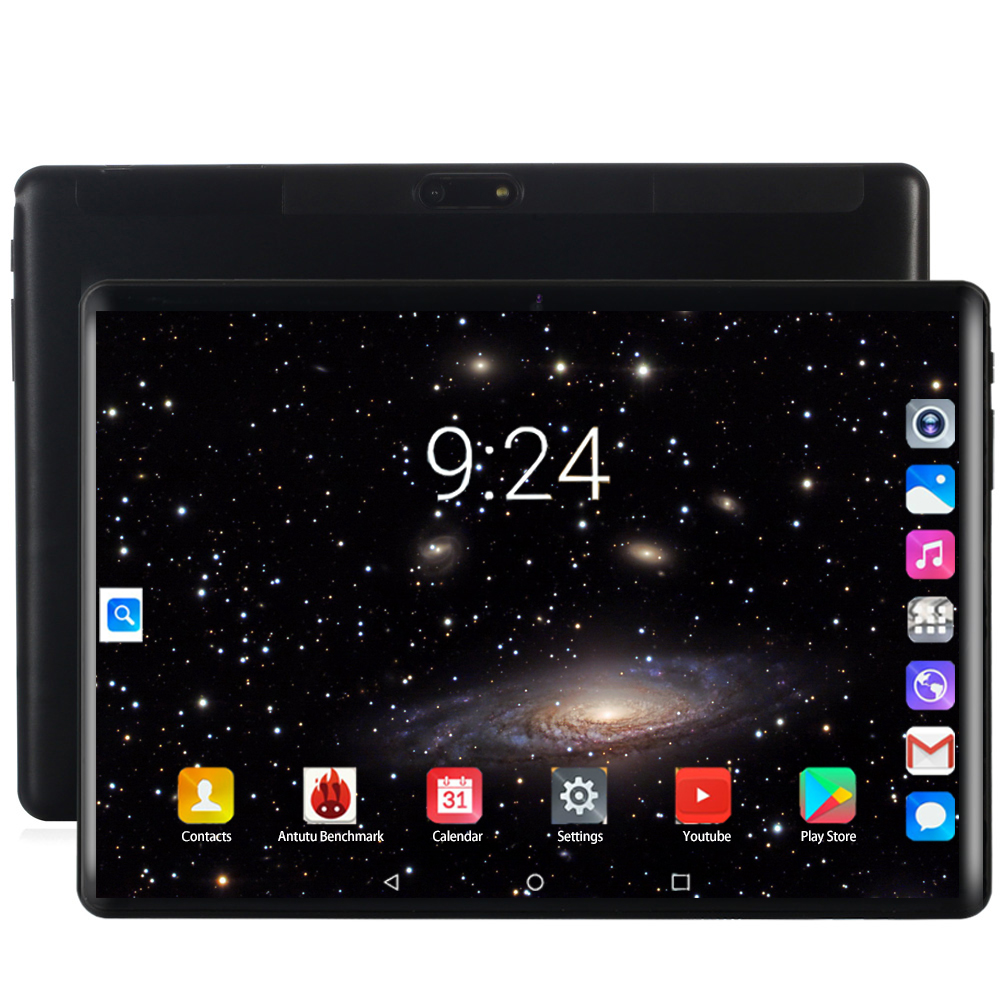 2020 10 Inch Tablet Android 8.0 Octa Core 6GB RAM 128GB ROM 8 Cores 1280*800 IPS Screen Tablets 10.1 For New Years Gift