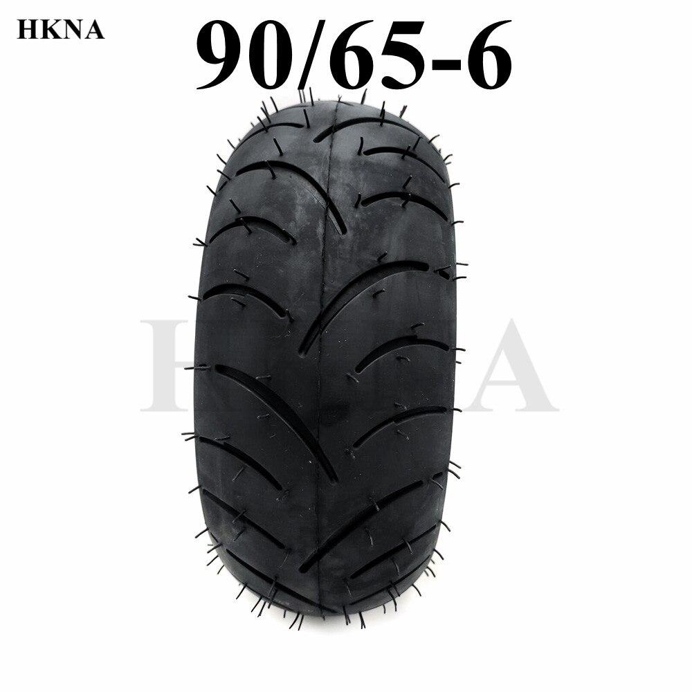 Buena calidad 90/65-6 neumático Tubeless neumático de vacío eléctrica accesorios para Scooter