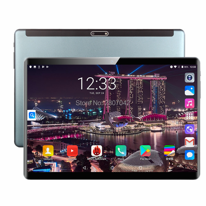 2020 Fast Shipping Android 9.0 Tablet PC Tab Pad 10 Inch IPS 4 Core 2GB RAM 32GB ROM  Dual SIM Card LTD Phone Call 10.1