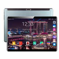 6GB di RAM 128GB di ROM Più Nuovo 10 pollici Tablet PC Android 9.0 Octa Core 2.5D Vetro 8.0MP Macchina Fotografica 4G FDD LTE Phablet 10 10.1 Regali