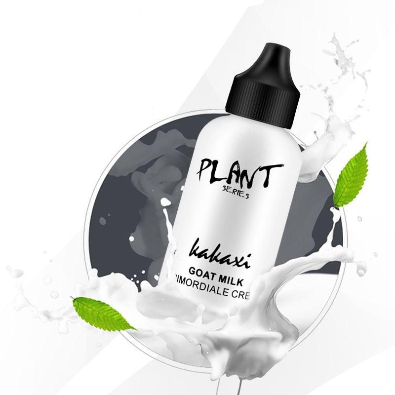 Крем-основа для макияжа ленивого лица с козьим молоком, восстанавливающее полноэкранное водонепроницаемое прочное средство для макияжа, п...