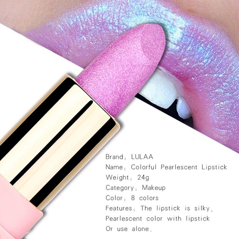 Brillo barra de labios hidratante lápiz labial Copa antiadherente resistente al agua brillo de larga duración pintalabios maquillaje YL
