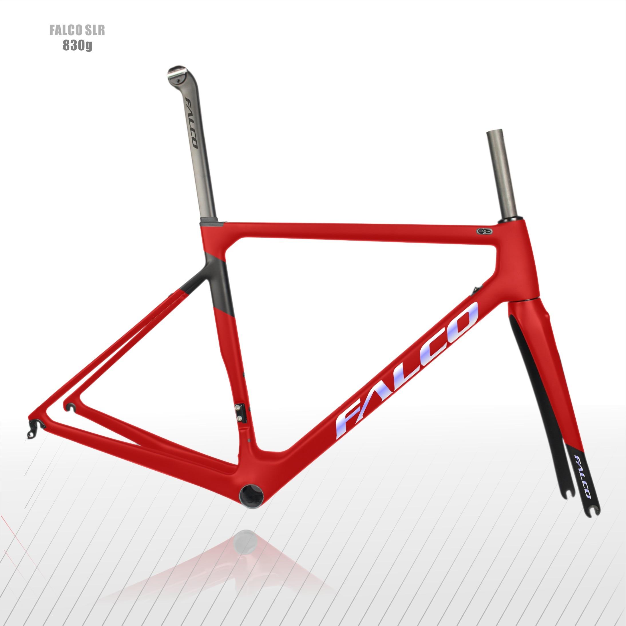 2020 Hot Full Carbon Disc Road Bike Frame,Falco Super Light  T1000 Carbon Fiber Bicycle Frame Road