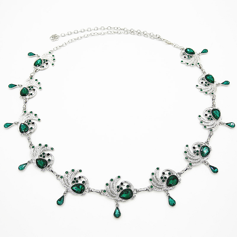 NEW Women Belly Dance Accessories Rhinestone Waists Belt Chain Jewelry Bellydance Peacock Body Chains M