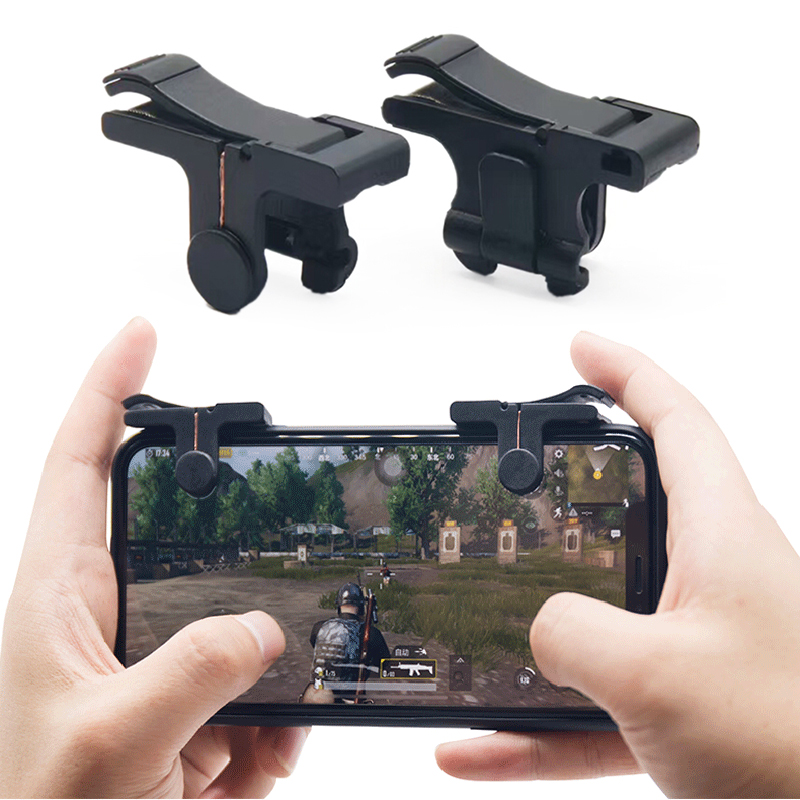 2pcs/lot C9 L1 R1 Gaming Trigger Smart Phone Games Shooter Controller Fire Button Handle For Rules Survival Out