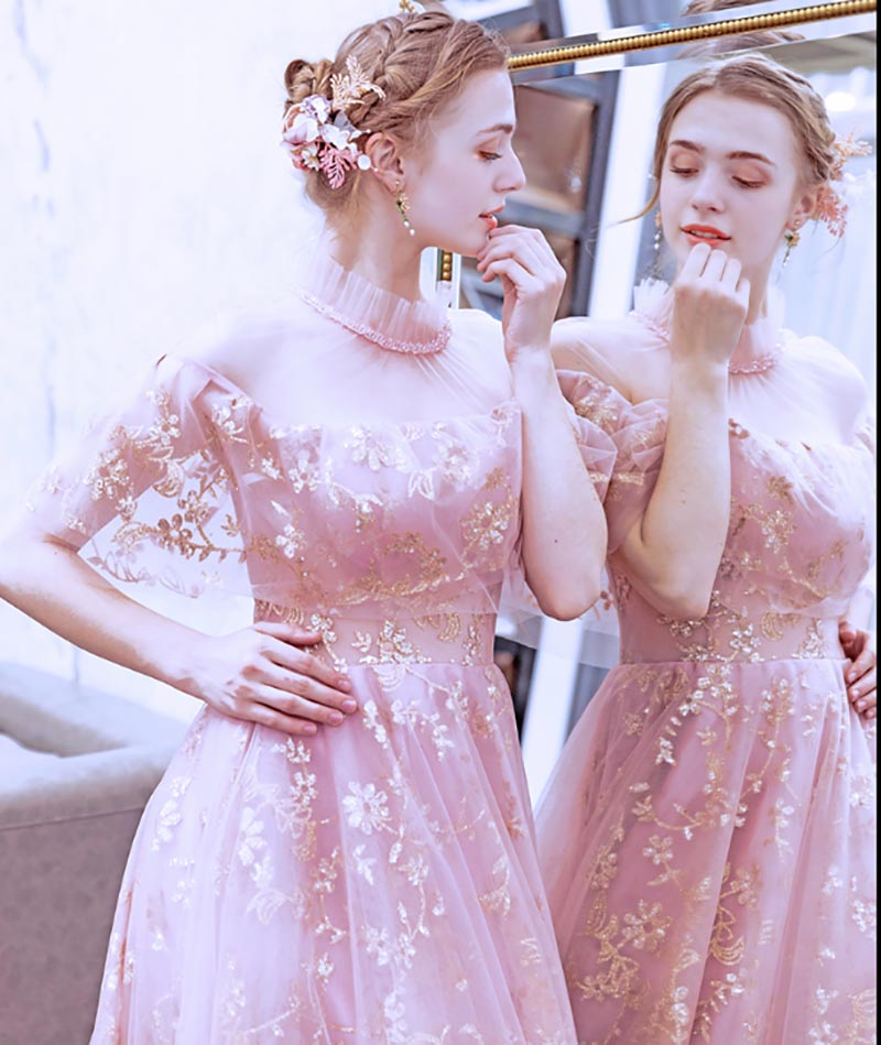 Luxury Pink Dress Custom Oversized Wedding Bridla Party Dresses Formal Evening Long Dress Gift For Women Large Size 5XL-6XL
