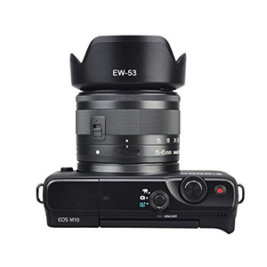 Image 3 - การถ่ายภาพกล้องอุปกรณ์เสริม Windproof เปลี่ยนแบบพกพาเลนส์สำหรับ Canon EF M 15 45 มม.F/3.5 6.3 คือ