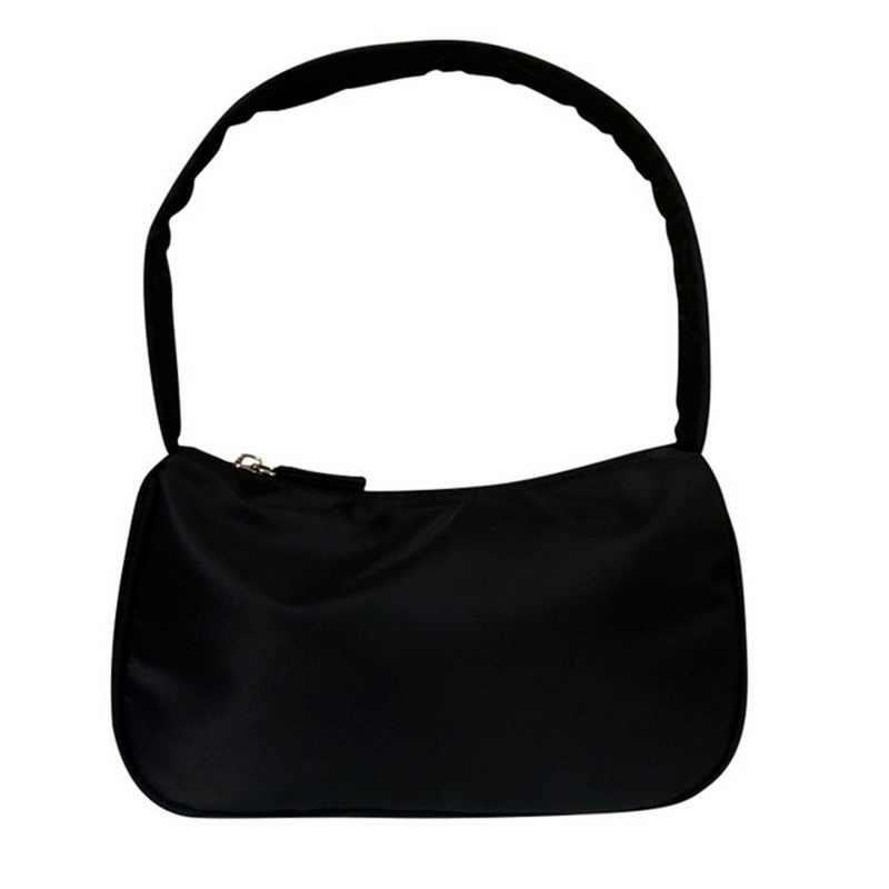 Litthing女性ビンテージレトロカジュアルなデザイナーミニショルダーバッグナイロンハンドバッグ女性ブランドスモールクラッチアボカド