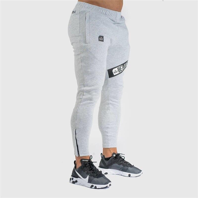 Pants Men Pantalon Homme Streetwear Jogger Fitness Bodybuilding Pants Pantalones Hombre Sweatpants Trousers Men SH 12