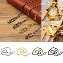 Watch-Holder Pocket-Chain Belt-Decor Necklace Jean Gift Retro Antique Unisex