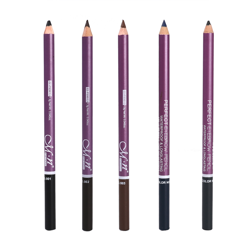 2 In1 Double-headed Eyebrow Pencil Makeup Waterproof Brow Pen 5 Colors Long Lasting Waterproof Eyebrow Pencils Easy To Wear 2020