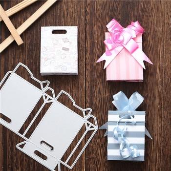 Naifumodo Box Metal Cutting Dies DIY New Scrapbooking  Card Embossing Paper Making Template Stencil Craft Cut Gifts 2020