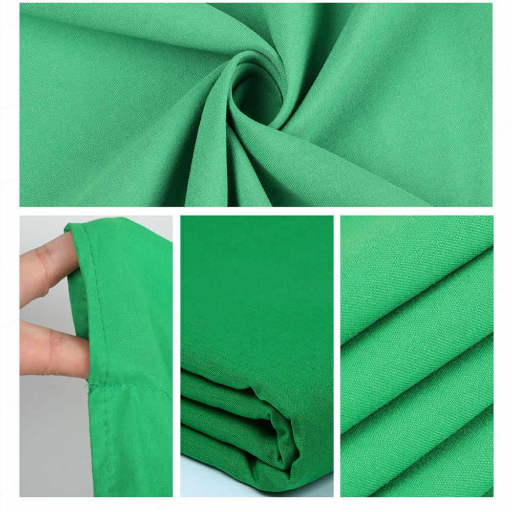 Fotografia fotografia tło składany poliester bawełna tło Green Screen kluczowania kolorem tło materiałowe dla Photo Studio wideo