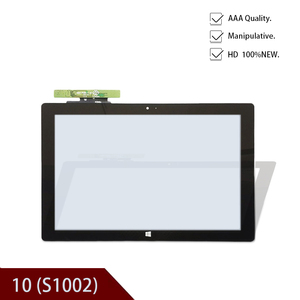Black Original New 10.1' inch capacitive touch screen panel glass sensor for Acer One 10 (S1002) quad core tablet pc replacement(China)