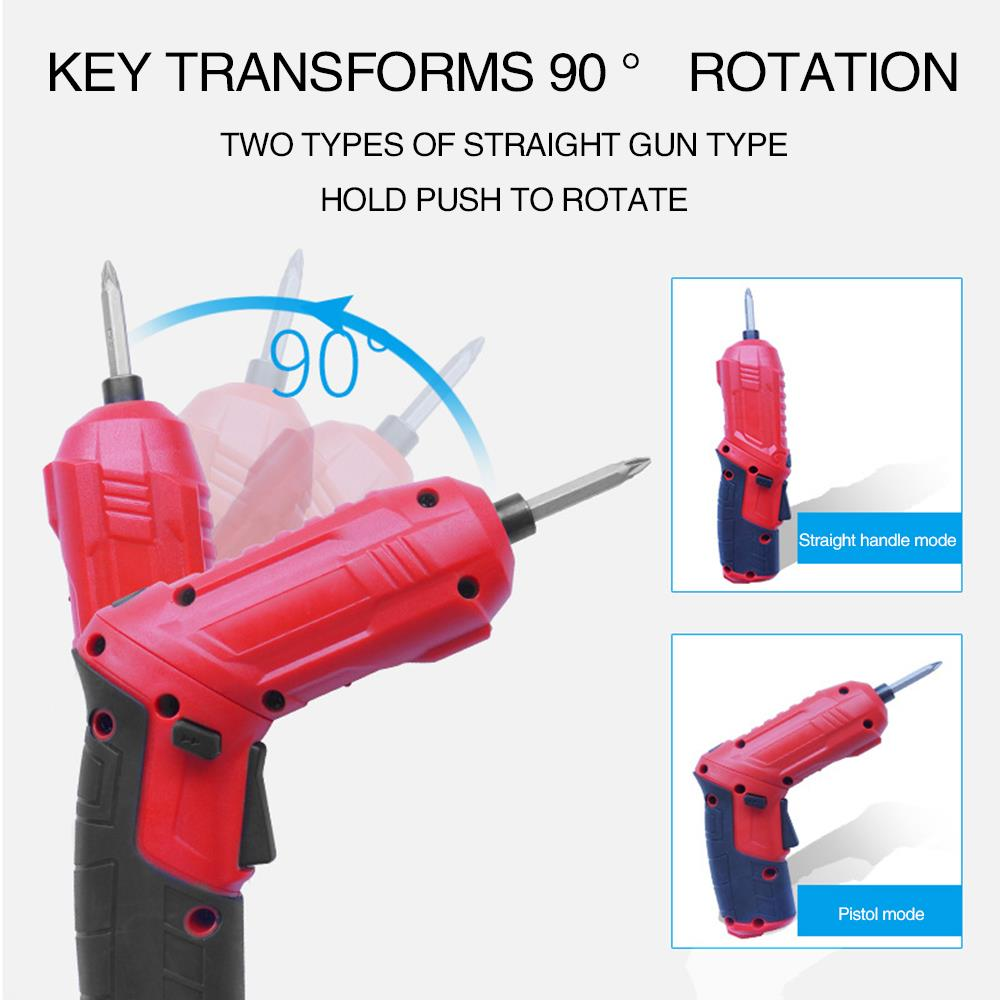 Durable Electric Drill Driver 220R/MIN Power Tools 47pcs/Set Practical Grinding Electric Screw Driver Portable Electric Drill
