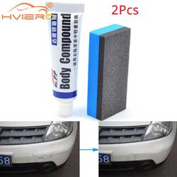2X Car Styling Car Wax Scratch Repair Kit Auto Body Compound MC308 Polishing Grinding Paste Paint Cleaner Care Set Auto Polishes