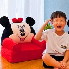Sofa-Seat Puff Princess-Chair Lazy-Backrest Neat Foldable Baby Kids Children Cartoon