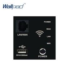 Wallpad Wand Eingebetteten Router Wifi Repeater USB Ladegerät Funktion Schlüssel Für Moduler nur 55*55mm