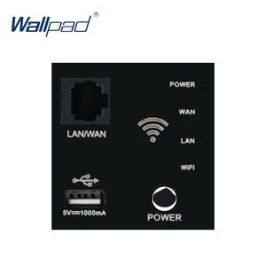 Image 1 - Настенный встроенный роутер Wallpad, ретранслятор Wi Fi, USB зарядное устройство, функциональный ключ для модулера только 55*55 мм