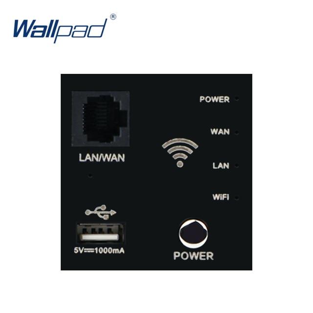 Настенный встроенный роутер Wallpad, ретранслятор Wi Fi, USB зарядное устройство, функциональный ключ для модулера только 55*55 мм