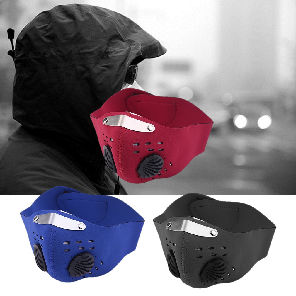 Activated Carbon Anti-Fog Mask Windproof Dust-Proof Safety Protective Mask Mountain Bike Hood Cycling Mask 1 Piece