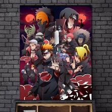 Moda moderna anime japonês quadros em tela dos desenhos animados da arte da parede quadros cartazes e cópias para o quarto do menino decoração casa