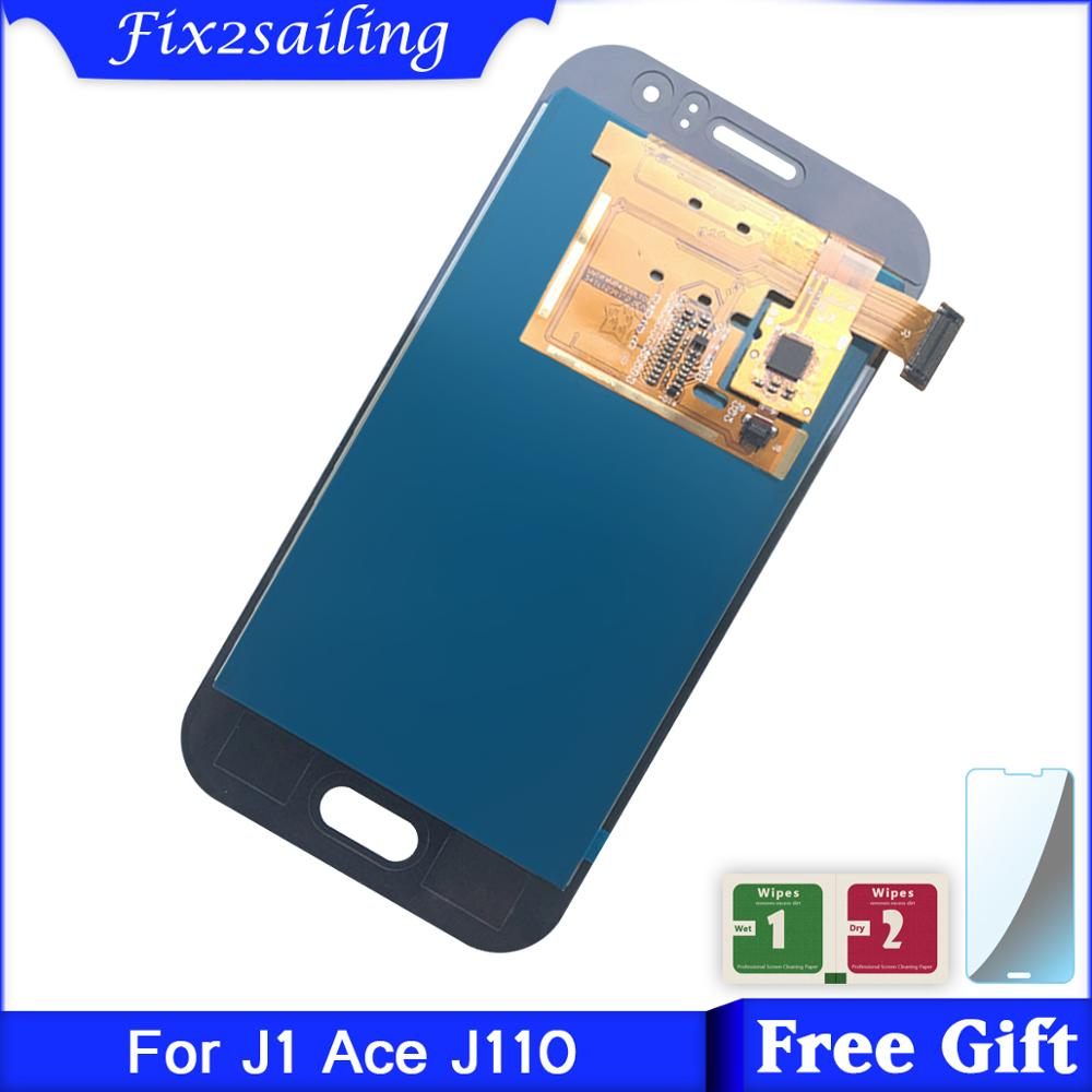 <font><b>LCD</b></font> Display For <font><b>Samsung</b></font> Galaxy <font><b>J1</b></font> <font><b>Ace</b></font> J110 J110F J110H J110FM J111 J111F J111M J111FN <font><b>LCD</b></font> Touch Screen Assembly image