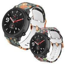 Druck Strap Armband Für Huami Amazfit GTR 42mm GTS BIP Silikon Uhr Band Für Garmin Forerunner245 645 Venu Smart armband