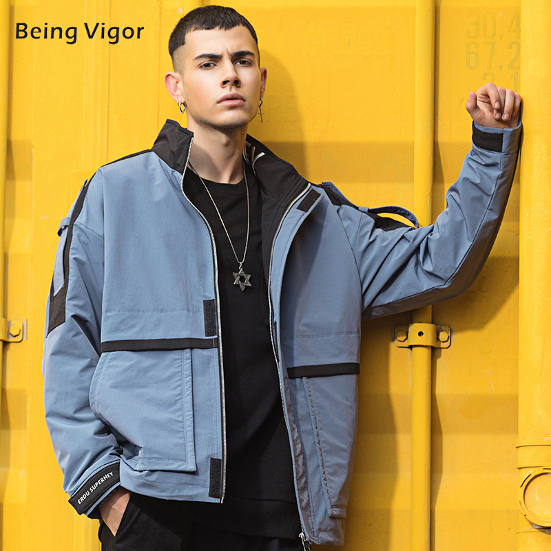New Bomber Jacket Men Outerwear Casual Men's Outdoor Overcoats HipHop Streetwear Top Clothes 4XL мужское пальто