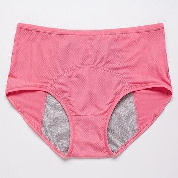 Leak Proof Menstrual Panties | Cotton Waterproof Briefs 2