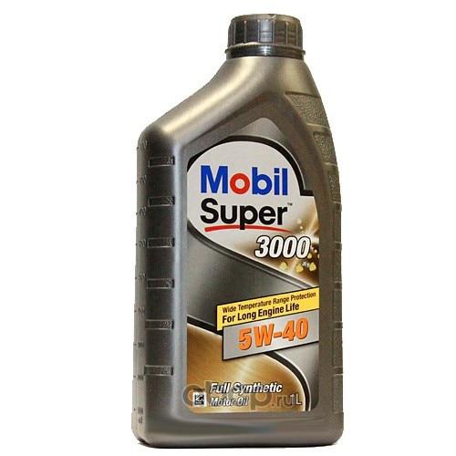 Масло моторное Mobil Super 3000 X1 5W-40 синтетика 1 л.