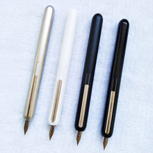 New style novel fountain pen rotating ink pen Dialog series 14K gold tip black 0.5mm