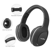 цена на Wireless Headphones With Mic Noise Cancelling Headset Stereo Bass Headphones Over Ear Earphone Volume Head Mounted Headset