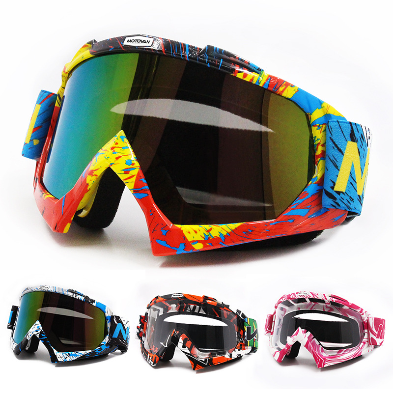 Off-road Helmet Goggles For Motorcycle Ski Goggles Off-road Bicycle Glass Eye-protection Goggles Downhill Goggles