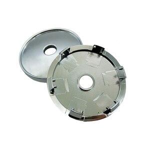 Image 5 - 4Pcs 60mm 56mm 로고 기아 자동차 휠 센터 허브 캡 배지 스티커 자동차 휠 방진 커버 데칼 자동차 스타일링 Accessorie