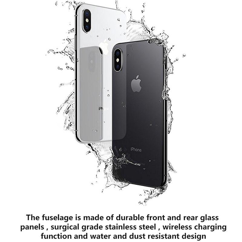 Original Used Unlocked Apple iPhone X Cell phones Face ID 5.8'' IOS 64/256GB ROM 4G LTE Rear Dual Cameras Full Screen Smartphone