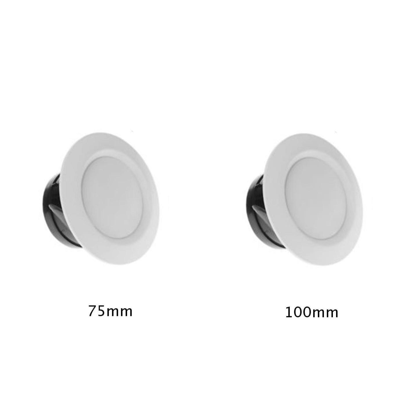 Adjustable Ceiling Air Extractor Valve Round Diffuser Duct Outlet Cover Home Fresh Air Vent Grille Exhaust Fan Hood 75mm/100mm