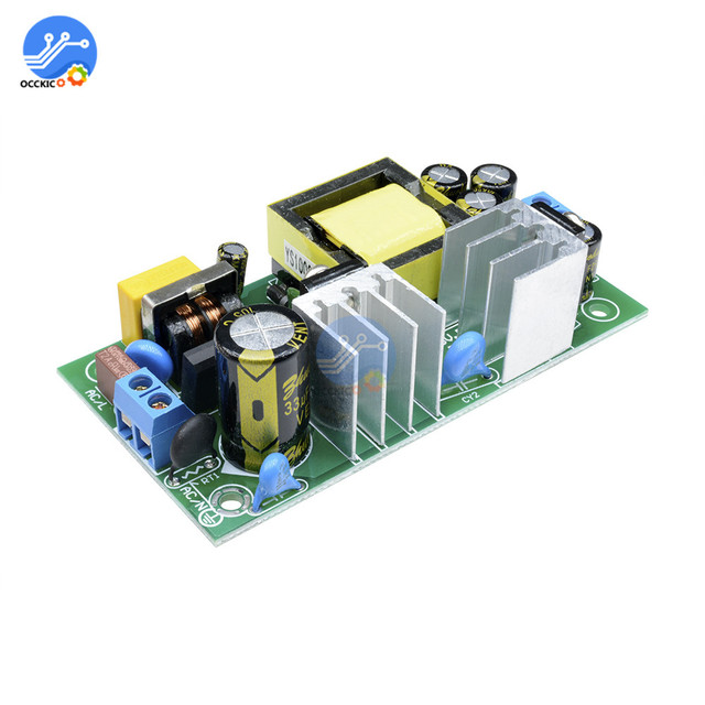 12V 2A 24W AC DC Isolated Power Buck Converter 220V to 12V Step Down Switch Power Module  20 60 degrees Overcurrent Protection