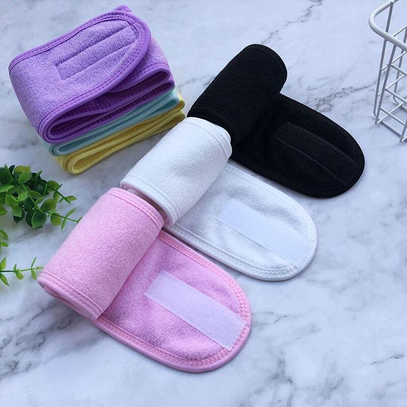 Kopf Band opaska Schweiß Haarband Wrap Dehnbar Waschbar Stirnbänder Für Frauen Haar für Sport Gesicht Waschen Make-Up Haar Zubehör