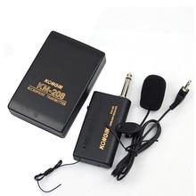 Professional Wireless Microphone System  Wireless FM Transmitter Recei