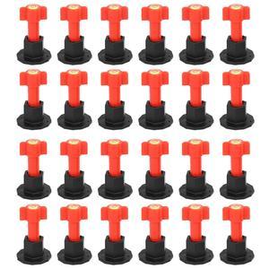 Image 1 - 75 pièces/ensemble cales de niveau entretoises pour Carrelage mural Carrelage niveau remplaçable aiguilles en acier localisateur entretoises pince